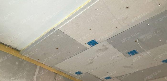 Шумоизоляция потолка панелями ЗИПС