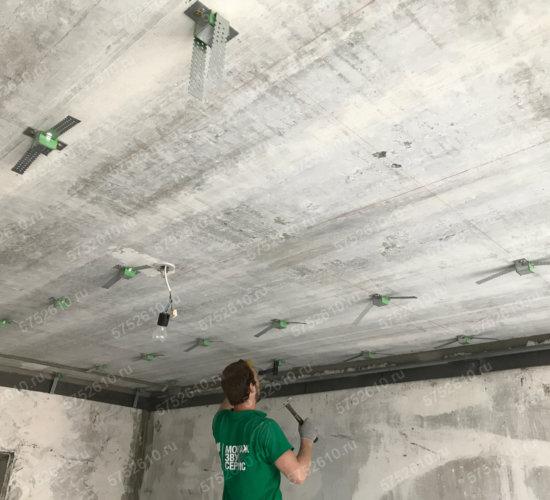 Звукоизоляция потолка от ударного шума