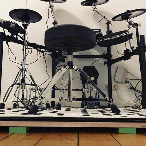 виброизоляция барабанной установки